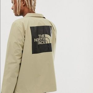 The North Face Beige Coach Jacket